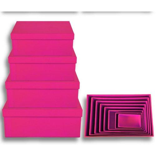 Geschenkkarton 8-tlg. Set, pink