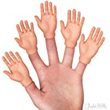 Accoutrements Finger Hands-Set of 5