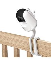 TIUIHU Universele babymonitor mount voor VAVA babyfoon met camera, veelzijdig voor alle andere camera's met 1/4 schroefdraaistoel zonder gereedschap of muurschade (1 pak, wit)