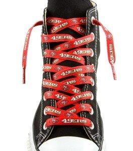 San Francisco 49ers Shoe Laces - 54''
