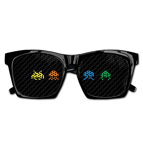 Xing Stars Colorful Summer Unisex Mosaic Robot Fashion Party Costume Sunglasses (80s Nerd Costumes)