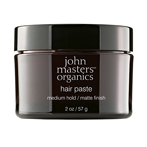 John Masters Organics - Hair Paste - Flexible Styling Product for Men & Women with Short or Long Hair - Matte Finish with Organic Honey & Beeswax - 2 oz