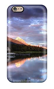 Hazel J. Ashcraft's Shop 7616637K45287827 Iphone 6 Case Cover - Slim Fit Tpu Protector Shock Absorbent Case (lake) WANGJING JINDA