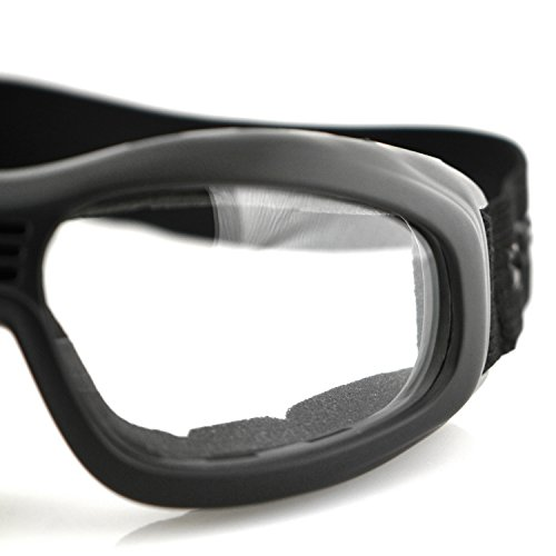 Bobster Touring 2 Goggles,Black Frame/Clear Lens,one size by Bobster (Image #4)