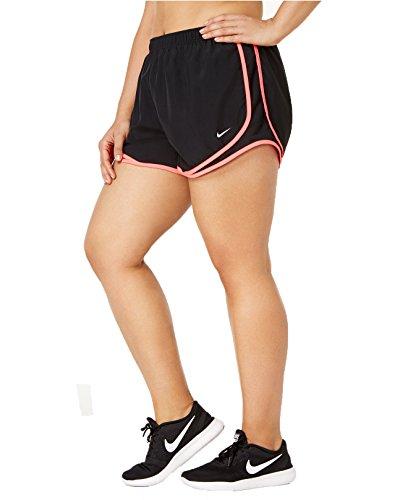 Nike Kvinnenes Tempo Kort Svart, Racer Rosa