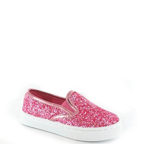 Ella ,  Mädchen Skater-Pumps pink, glitter