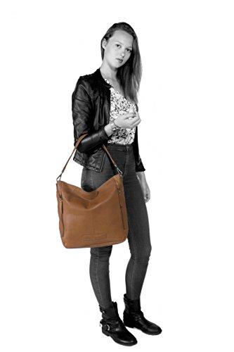 The Chesterfield Brand Lina Shopper Tasche Leder 32 cm Cognac