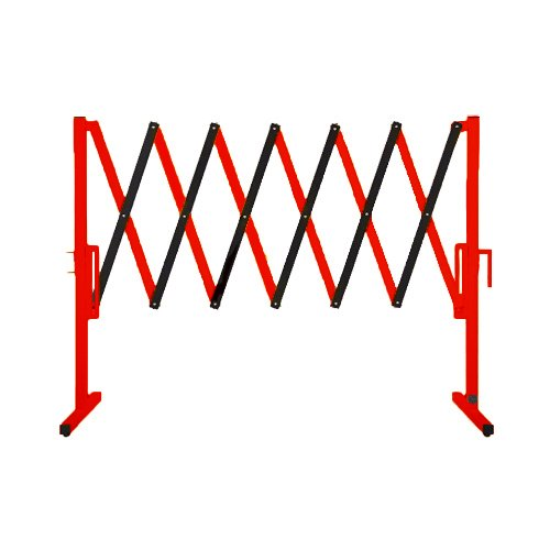 Versare 2050101 the Protector Portable Expanding Safety Gate, Red/Black