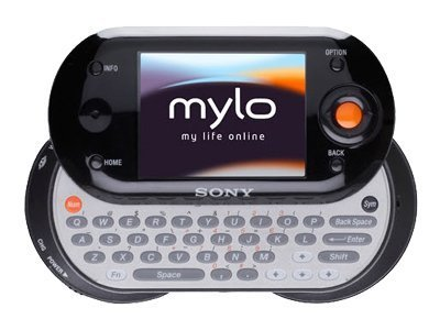 Sony Mylo COM-1 Personal Communicator, MP3/MP4/Audio/Video Player, Wi-Fi Pocket Portable PC (Sony Psp Mp3)
