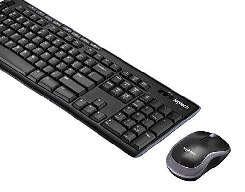 Logitech MK270 Wireless Keyboard and Mouse Combo - Keyboard and Mouse...