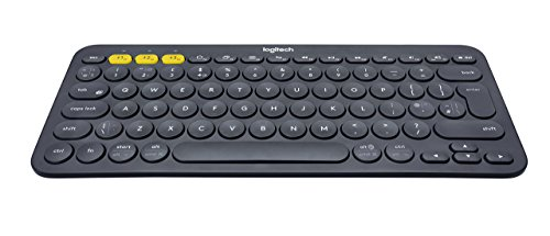 Click to buy Logitech K380 Keyboard - Wireless Connectivity - Bluetooth - Black - English (UK) - From only $55