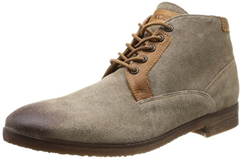 Kost Cormoran46 - Zapatos de Cordones de terciopelo hombre marrón - Marron (Taupe)