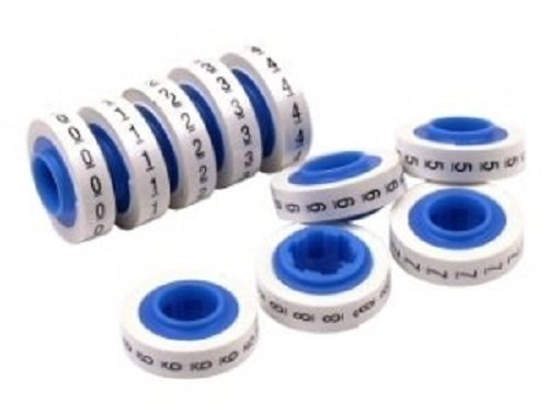 3M ScotchCode Wire Marker Tape Refill Roll, SDR-0-9, 10 rolls numbering 0 thru 9