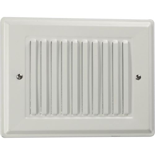 Quorum 7-100-8 Accessory - Basic Recessed Grill Chime Box, Studio White Finish by Quorum Lighting