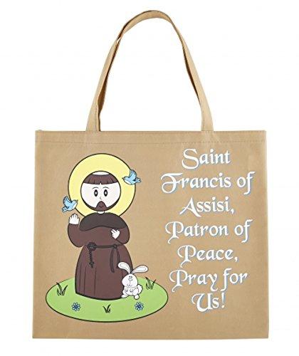 AT001 Recycled Nylon, St. Francis Tote Bag, 4 1/2 x 13'' H, 12pk. by AT001