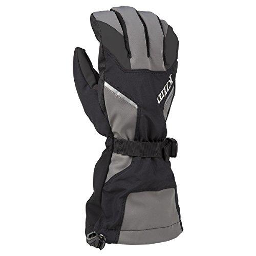 Klim Klimate Men's Ski Snowmobile Gloves - Dark Gray / (Waterproof 200g Thinsulate Insulation)