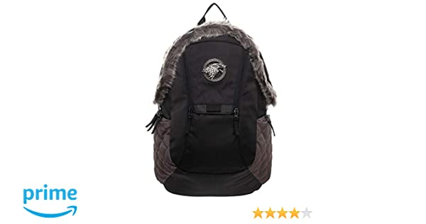 Amazon.com | Game of Thrones Stark Inspired Backpack Standard | Casual Daypacks