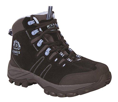 King's by Honeywell KWHL02 Women's Steel Toe Mid Hiker, Size 9.5