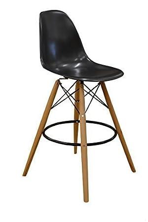 Lot De 2 X Chaise Haute Bar Design Inspire Charles Eames Tabouret DSW