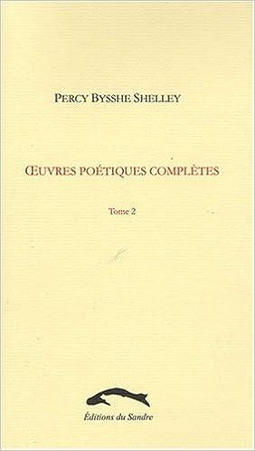 Livre Oeuvres poétiques complètes, Tome 2 : pdf epub