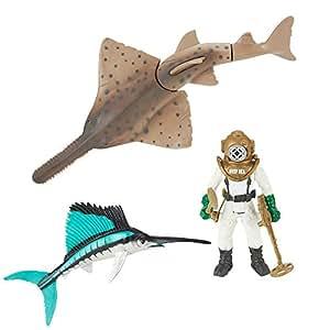 Animal Planet Deep Sea Discovery Sawfish Playset