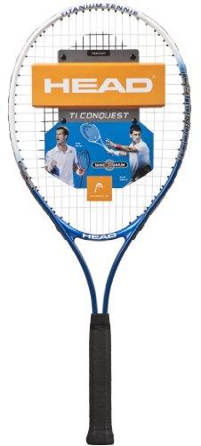 HEAD Ti Conquest Tennis Racquet-Strung (U20)