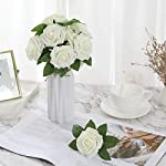 DerBlue-60pcs-Artificial-Roses-Flowers-Real-Looking-Fake-Roses-Artificial-Foam-Roses-Decoration-DIY-for-Wedding-Bouquets-CenterpiecesArrangements-Party-Home-Decorations