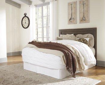 queen panel bed - 9