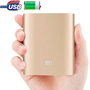 Xiaomi 10400 mAh USB cargador de batería externo portátil/batería externa Compatible para Xiaomi/