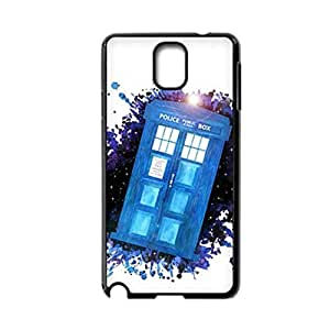 Generic Soft Abstract Phone Cases Design With Tardis For Samsung Galaxy Note3 N900 Choose Design 4