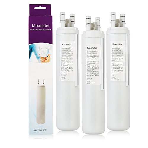 Refrigerator Water Filter ULTRA fresh water 3pack by Cleaners Filterae
