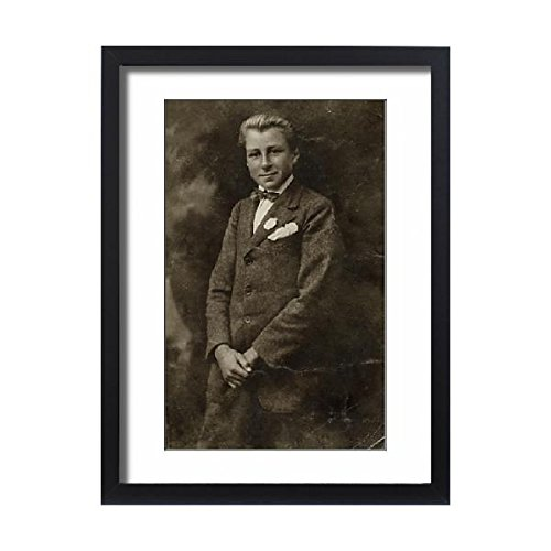 Framed 24x18 Print of Rudi Schneider, aged 14 (4421095) by Prints Prints Prints