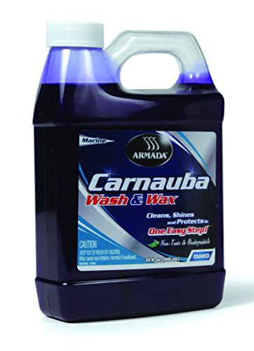 Camco 40922 - RV Trailer Camper Cleaners Carnauba Wash & Wax 32Oz.