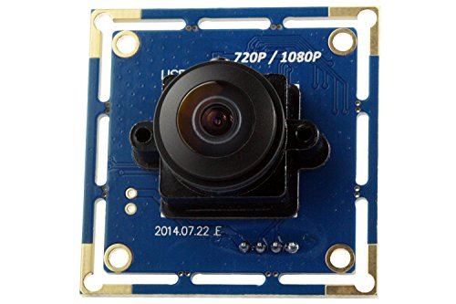 SVPRO 2MP CMOS OV2710 Wide Angle 180 Degree Fisheye Lens PC Web Camera Free Driver UVC Industrial Machine Vision USB Camera Module for Android Windows Mac OS(180 degree megapixel fisheye lens)