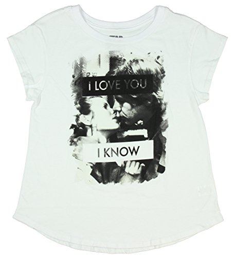 [Star Wars Hans And Leia i Love You - I Know Juniors T-Shirt (Small)] (Star Wars Leia Sexy)