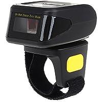 Eyoyo Portable Mini Scanner 1D de Bague Sans fil Bluetooth Barcode Scanner Lecteur de codes à barres 1D