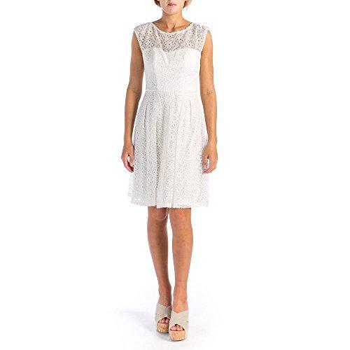 Dresses Designer Sue Wong (Sue Wong Womens Eyelet Sleeveless Casual Dress White 0)