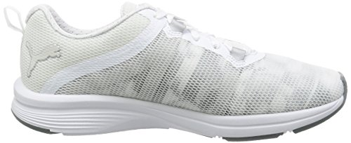 Puma Pulse Ignite Xt Swan Wn's, Zapatillas Deportivas para Interior para Mujer Blanco (Puma White-quarry 02)