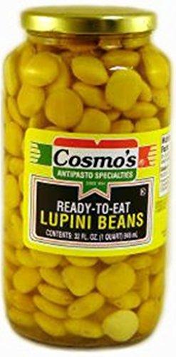 Cosmos - Lupini Beans, (1)- 32 oz. Jar