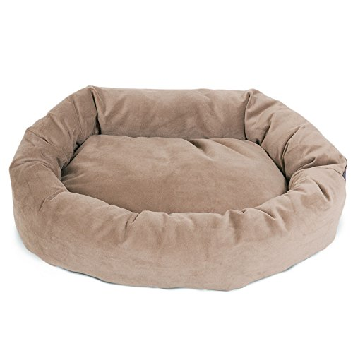 40 inch Stone Suede Bagel Dog Bed By Majestic Pet Products by Majestic Pet (Image #2)