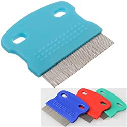 Stainless Steel Pet Dog Cat Removal Cleaning Flea Toothed Comb .