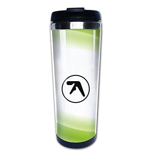 Beaufiy Aphex Twin Logo Stainless Steel Travel Tumbler Coffee Mug - Logo Lenes