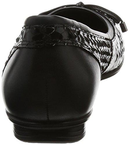 Nero Touch ECCO 51052black Donna Ballerine Black pAw7q0w