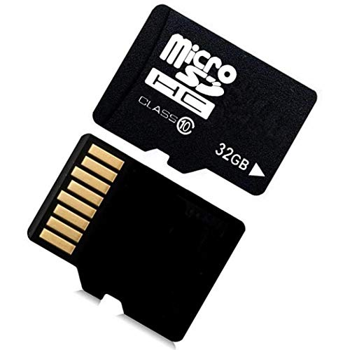 Qenci 32G Micro SD Cards 10 High Speed Memory TF Card with Adapter Mobile Phone MicroSD Cards