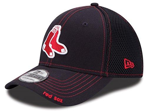 Alternate Mlb Baseball Cap - MLB Boston Red Sox Alternate NEO 39Thirty Stretch Fit Cap, Large/X-Large, Navy