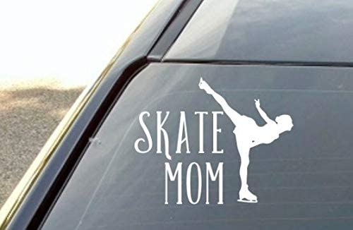 6 inch Customized Figure Skating Skate Vinyl Decal Sticker for Car Window Laptop