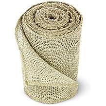 Craft Jute Burlap Sash, 5.5 Inches by 10 Yards
