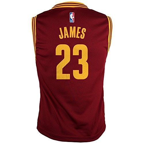 bdf345cf2d0 NBA Cleveland Cavaliers Youth Boys 8-20 Replica Road Jersey ...