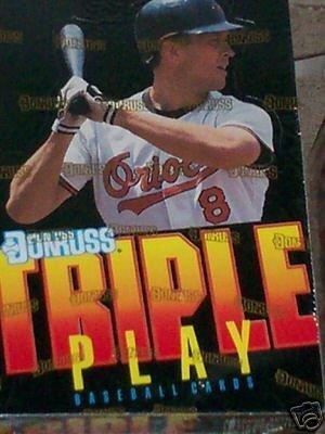Amazoncom 1992 Donruss Triple Play Baseball Cards Unopened Box 36