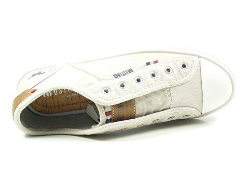 Infilare Donna Beige Sneaker 2 Mustang 401 1272 w0qvnU8